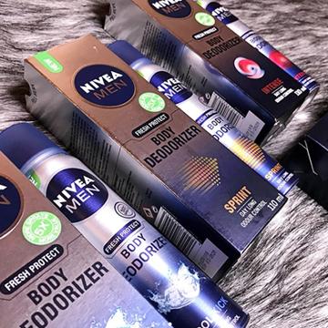 NIVEA MEN Body Deodorizer Range For Him-8898