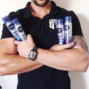 NIVEA MEN Body Deodorizer Range For Him-8896