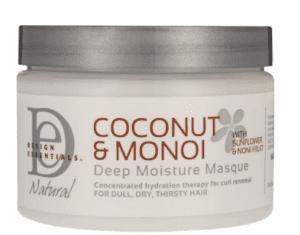 Design Essentials Coconut & Monoi Deep Moisture Masque -0