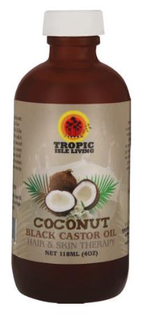 Tropic Isle Living Jamacian Black Castor Oil Coconut -0