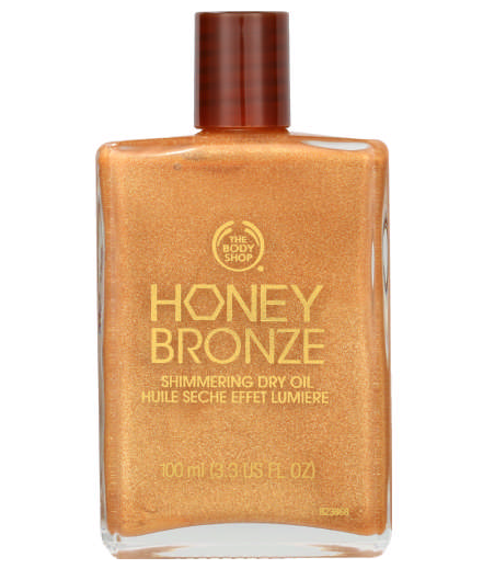 The Body Shop Honey Bronze Shimmering Dry Oil -0
