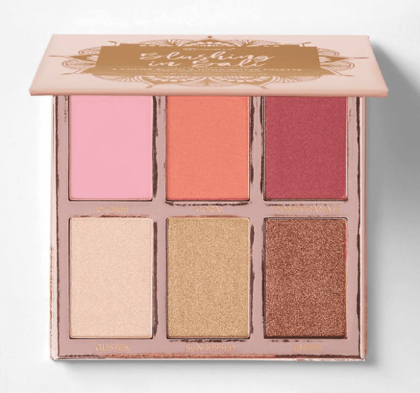 Blushing in Bali Highlighter and Blush Palette-10049