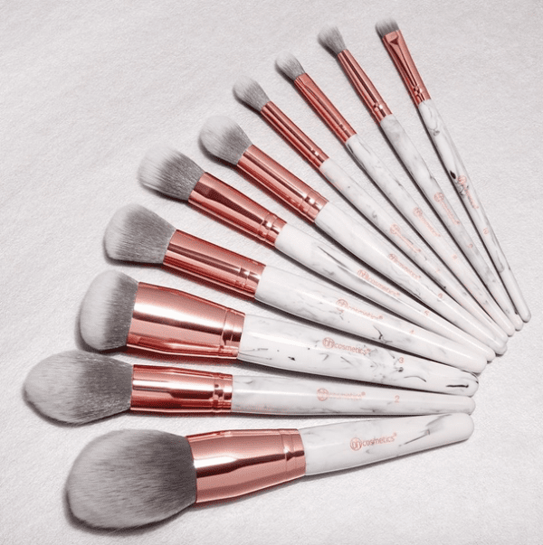 Marble Luxe Brush Set -10056