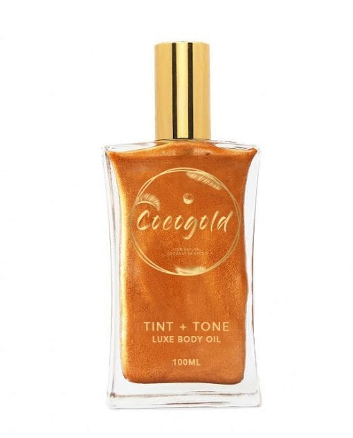 CocoGold Botanical Tint + Tone Tan Oil-0