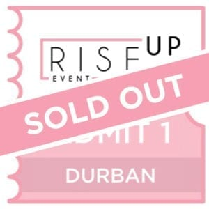 Girls Day Out - DURBAN Rise Up - 4 Tickets-0