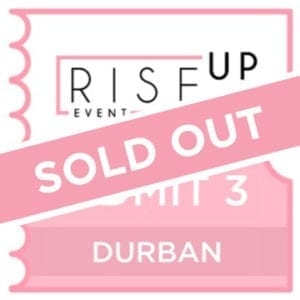 DURBAN - Rise Up Event - 2 Tickets-0