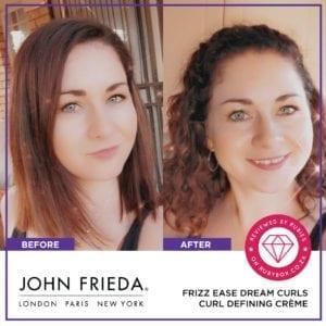 John Frieda FRIZZ EASE Dream Curls Curl Defining Crème-10306