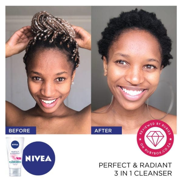 NIVEA Perfect & Radiant 3 in 1 Cleanser-10315