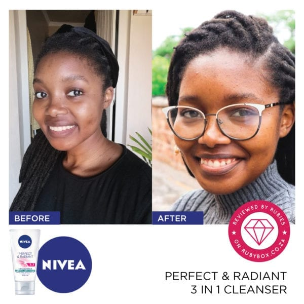 NIVEA Perfect & Radiant 3 in 1 Cleanser-10314