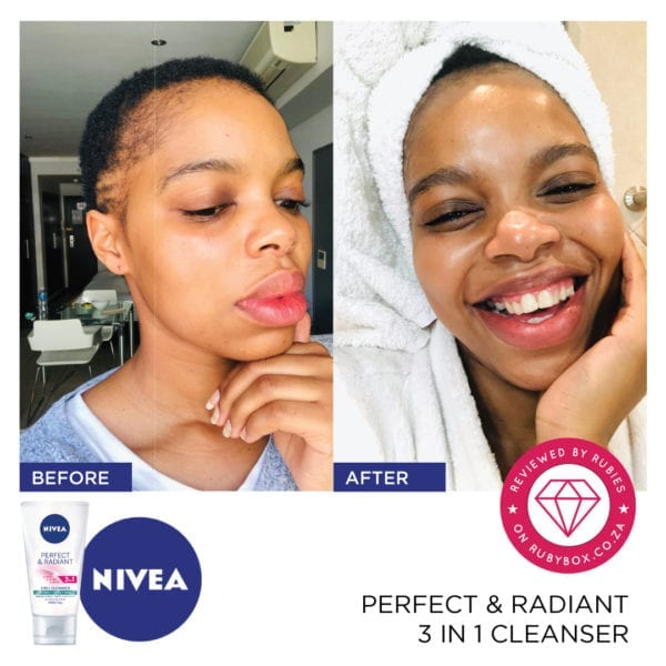 NIVEA Perfect & Radiant 3 in 1 Cleanser-10313