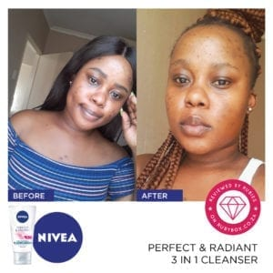 NIVEA Perfect & Radiant 3 in 1 Cleanser-10312