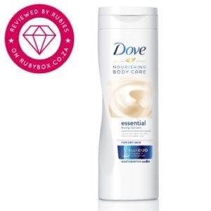 dove essential body lotion
