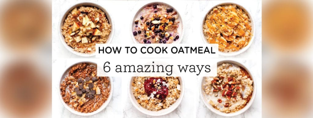 6 Delicious recipes to spice up your morning oats