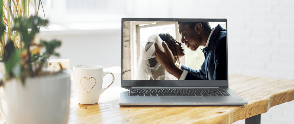 How to plan a virtual wedding