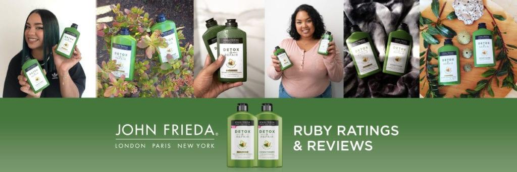 ruby reviews: John Frieda Detox & Repair