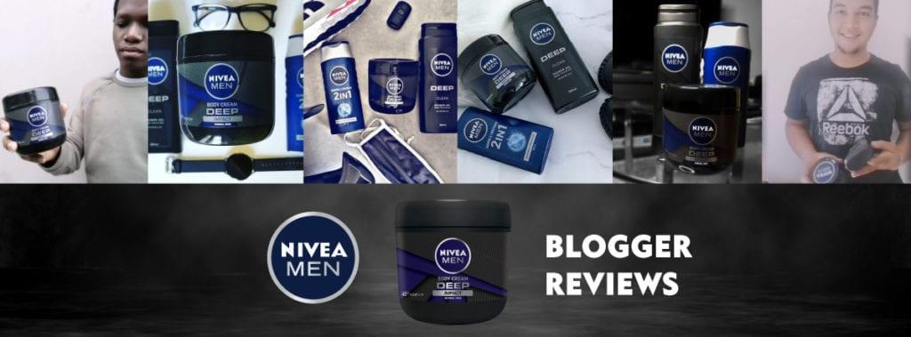 Bloggers Review: Nivea Men Deep Impact Body Cream