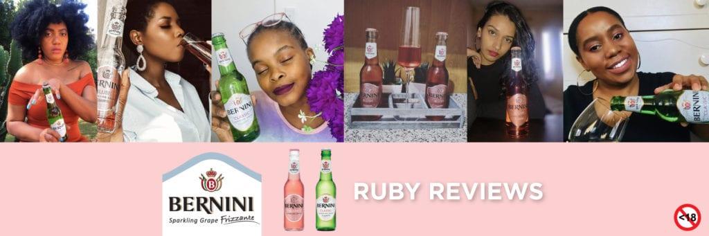 ruby reviews: Bernini Sparkling Grape Frizzante