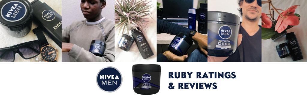 ruby reviews & ratings: NIVEA Men Deep Impact Body Cream