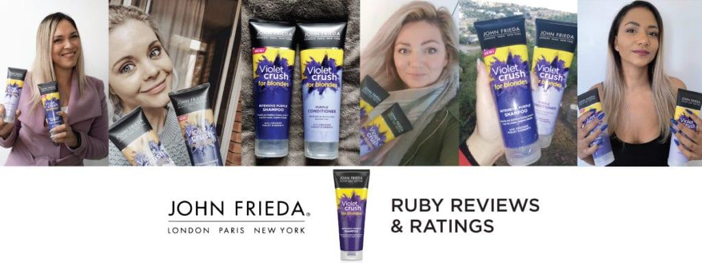 ruby reviews: John Frieda Violet Crush Intensive Purple Shampoo