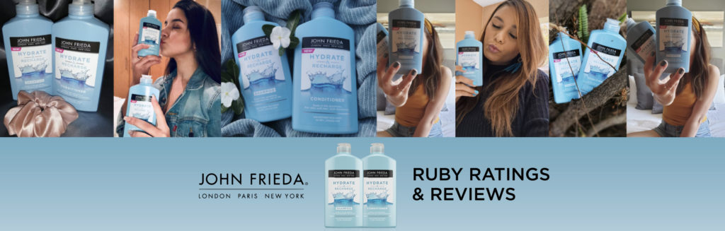 ruby reviews & ratings: John Frieda Hydrate & Recharge shampoo and conditioner