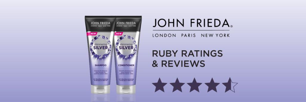 ruby reviews & ratings: John Frieda Shimmering Silver Shampoo & Conditioner